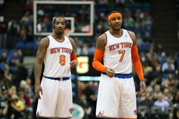 JR Smith Believes Melo Will Re-Sign with Knicks