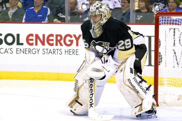 Dave Lozo's Bag Skate: Marc-Andre Fleury's Career Arrives at a Crossroads