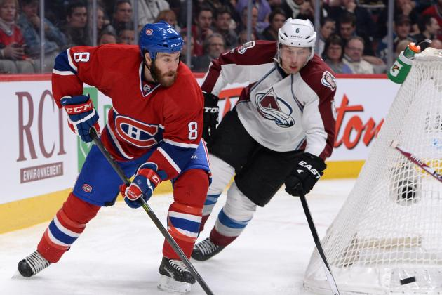 After 12-Game Absence, Prust Back for Habs