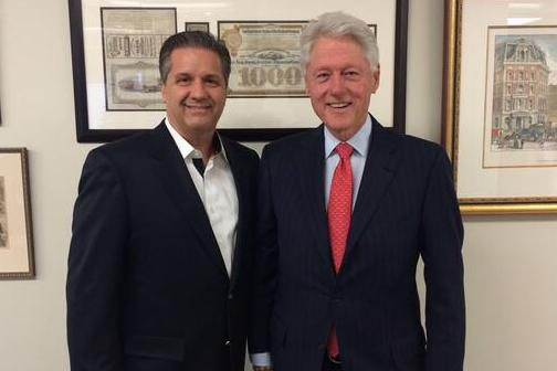 Calipari Had Lunch with President Clinton Today