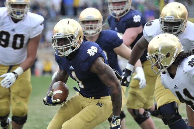 Notre Dame Football: 3 Running Backs Still a Juggling Act