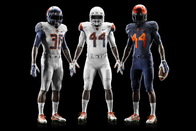 Syracuse Unveils New Nike Pro Combat Football Uniforms for 2014 Season