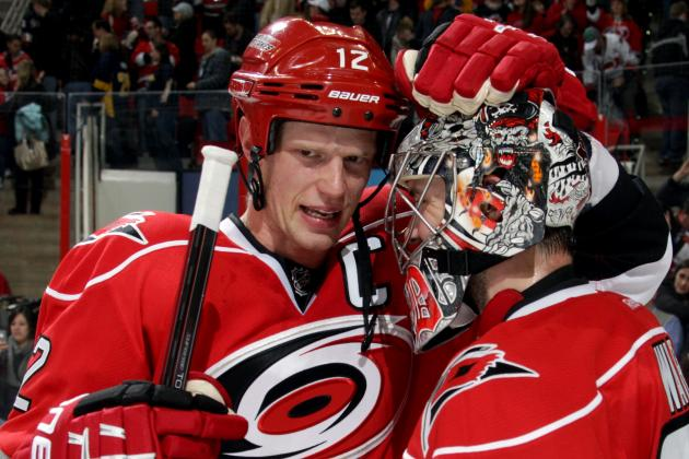 Staal, Ward Say They Want to Stay in Carolina