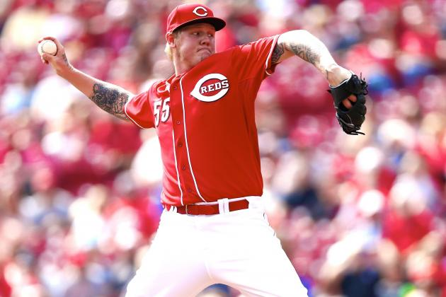 UTK: Reds Pitcher Mat Latos Has Another Setback, Reds' Rotation Struggles