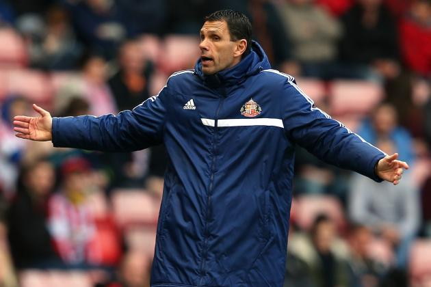 Sunderland Head Coach Gus Poyet Is Envious of Newcastle's League Standing