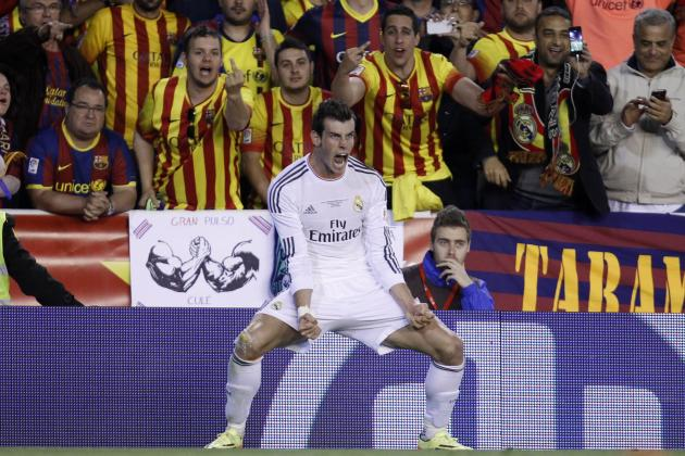 Watch: Gareth Bale Scores Copa-Winning Golazo for Real Madrid Against Barcelona