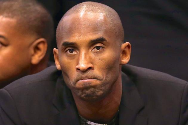 Kobe Bryant Calls This Season 'S--t,' Says Next Year Will Be 'Epic'