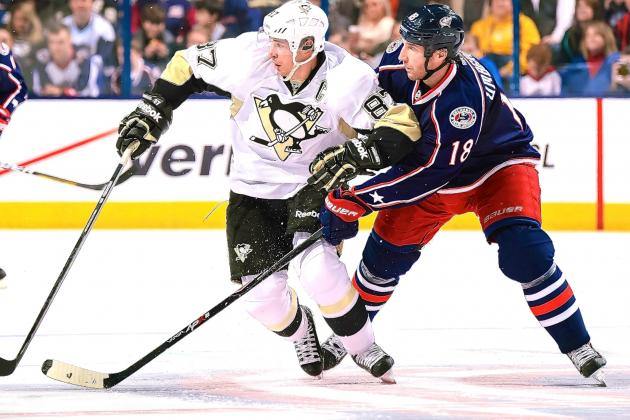 Columbus Blue Jackets vs. Pittsburgh Penguins Game 1: Live Score and Highlights