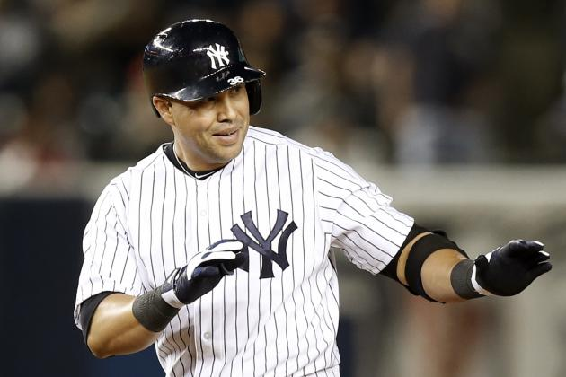 Yankees' Carlos Beltran Passes Joe DiMaggio on All-Time Home Run List