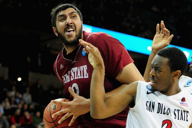 Report: New Mexico State's Bhullar to Enter Draft