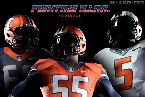 Illinois Unveils New Nike Uniforms for Both Football and Basketball Teams