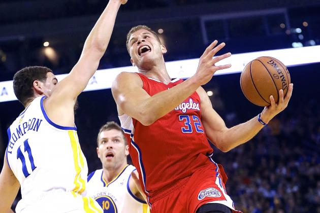 Klay Thompson Wonders How Player of Blake Griffin's Size Can 'Flop That Much'