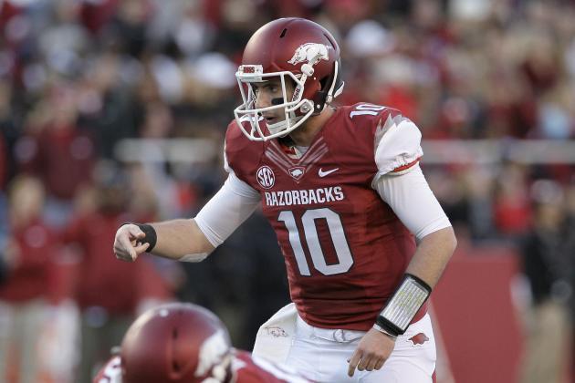 Arkansas Football: Have Faith in Quarterback Brandon Allen