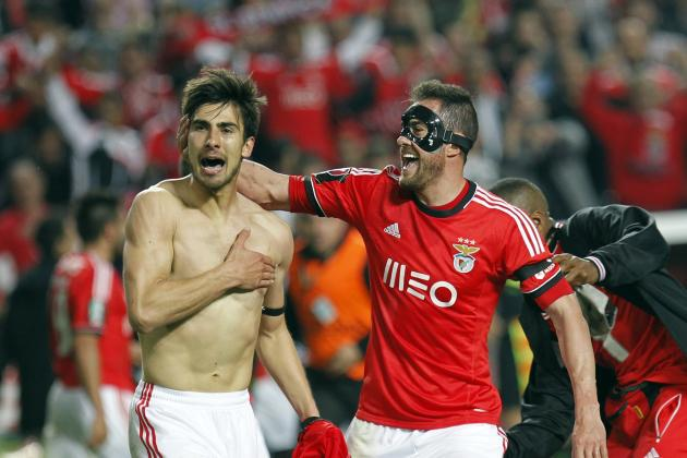 Benfica's Andre Gomes Scores Amazing Goal to Beat Porto in Cup Semi-Final