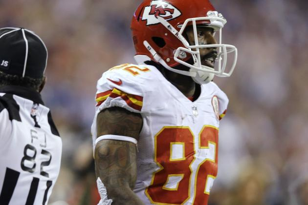Chiefs WR Dwayne Bowe Pleads Guilty to Amended Charges in Pot Case