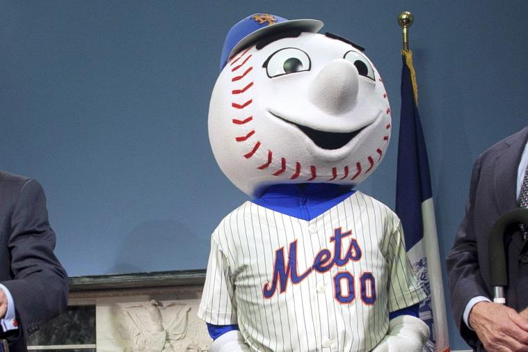 Mr. Met Had His Life Threatened by Secret Service Snipers During Clinton Visit