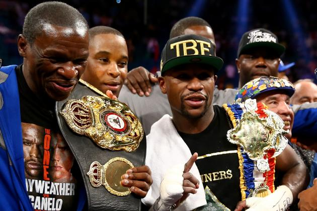 Mayweather vs. Maidana Fight: What Losing Would Mean for Each Boxer's Career