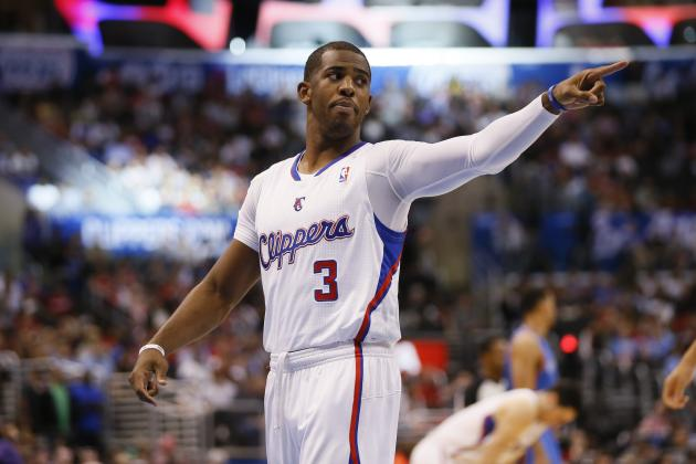 Clippers' Chris Paul Leads NBA in Both Assists and Steals Per Game for 3rd Time
