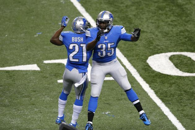 Envisioning How the Lions Might Use Reggie Bush and Joique Bell in 2014