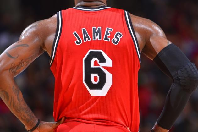 LeBron James, Kevin Durant and Kobe Bryant Top List of NBA Jersey Sales