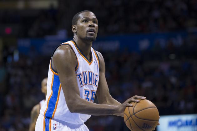 Thunder's Kevin Durant Wins Scoring Title by 3rd-Highest Margin Since 1970