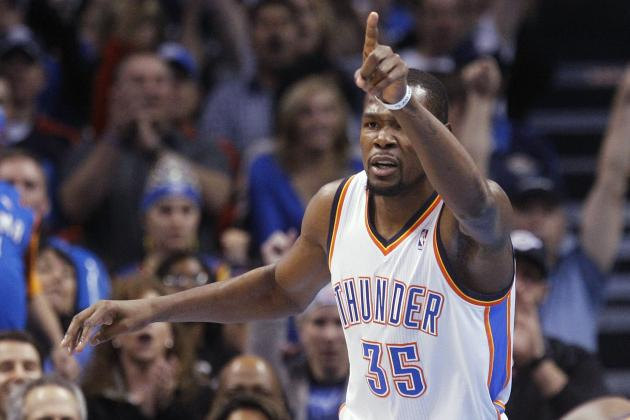 Kevin Durant Enters Michael Jordan Territory with 4th Scoring Title in 5 Years
