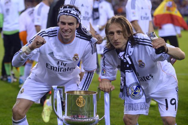 Gareth Bale Uploads Instagram Video of Wild Real Madrid Celebration