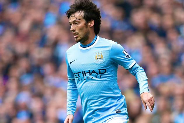 Manchester City Dependence on David Silva Has Harmed Premier League Title Hopes