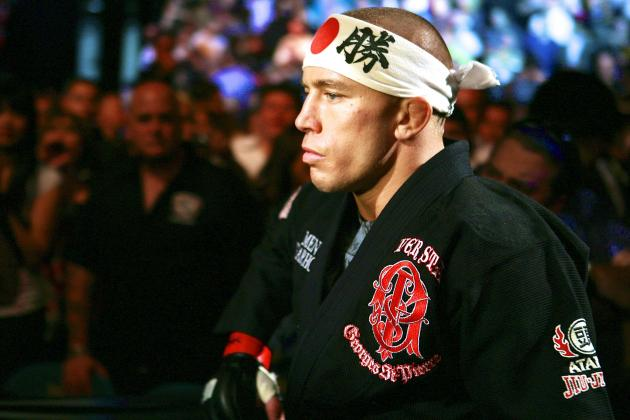 Joe Rogan Reveals That Georges St-Pierre 'Was Making $5 Million a Fight'