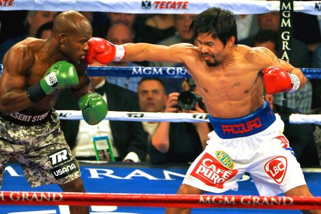 Manny Pacquiao's Trunks Worn During Tim Bradley Victory Reportedly Sell for $40K