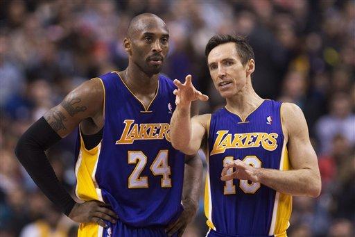 Lakers News: Latest Buzz Surrounding Kobe Bryant, Steve Nash and Team's Future