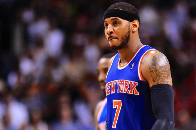 Carmelo Anthony Talks Free Agency, Knicks Future and More at Exit Interview