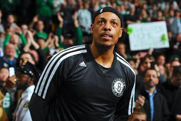 Boston Celtics GM Danny Ainge Open to Paul Pierce Returning to Team