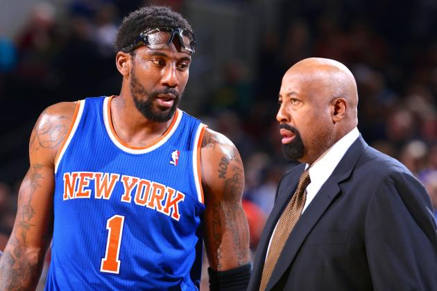 Amar'e Stoudemire: 'We Didn't Quite Buy Into' Mike Woodson's System