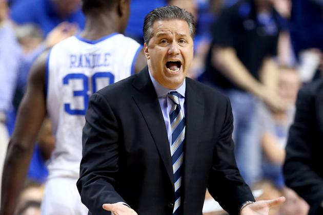 Kentucky Coach Calipari Awaits Players' Decisions