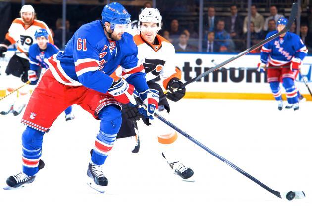 Philadelphia Flyers vs. New York Rangers Game 1: Live Score and Highlights