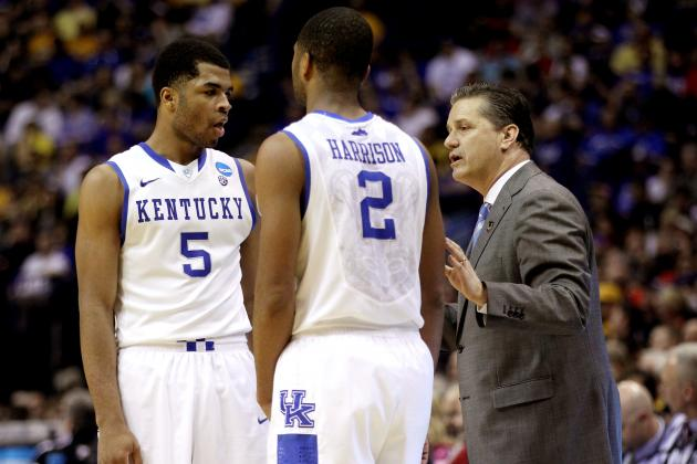 Calipari Says He Has 'No Idea' What Harrison Twins Will Do