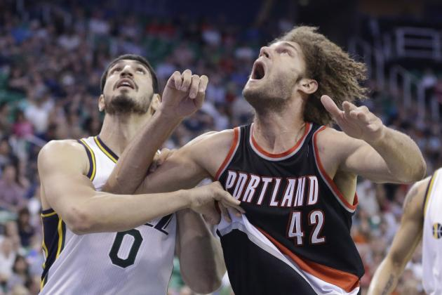 Blazers' Robin Lopez Breaks Franchise Single-Season Offensive Rebounding Record