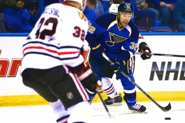 Chicago Blackhawks vs. St. Louis Blues Game 1: Live Score and Highlights
