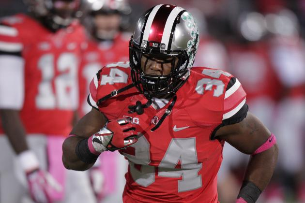 Should Carlos Hyde Be the 1st Back off the Board in the 2014 NFL Draft?