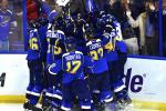 Blues Top Blackhawks in Triple OT Thriller