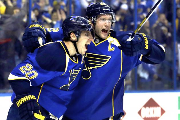 Buckle Up for Blues-Blackhawks: St. Louis Draws First Blood in Epic 3OT Win