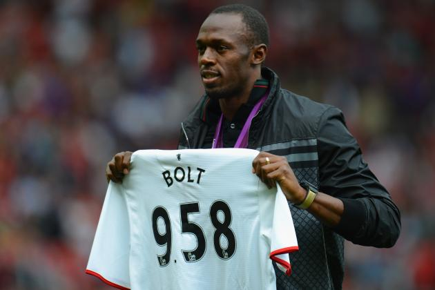 Usain Bolt Gives Envious Reaction to Gareth Bale's Copa Del Rey Wonder Goal