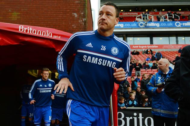 Chelsea FC: John Terry Must Halve His £150K Wages to Stay in West London