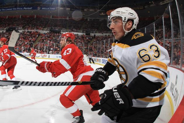 Red Wings Determined They Can Tough out Series Against Bruins