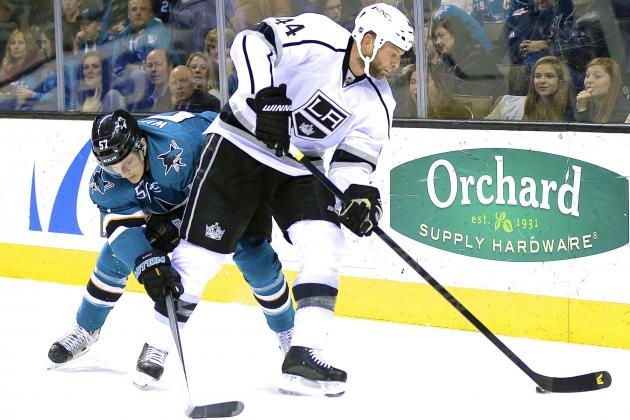 San Jose Sharks Exploit Weak Link in Los Angeles Kings' Defence in Game 1 Win