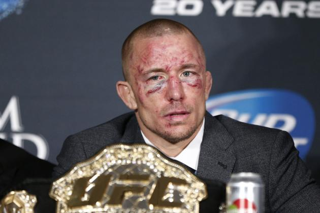 Dana White on GSP Injury: 'Tough to Come Back, Giving Up Your Belt Is Crazy'