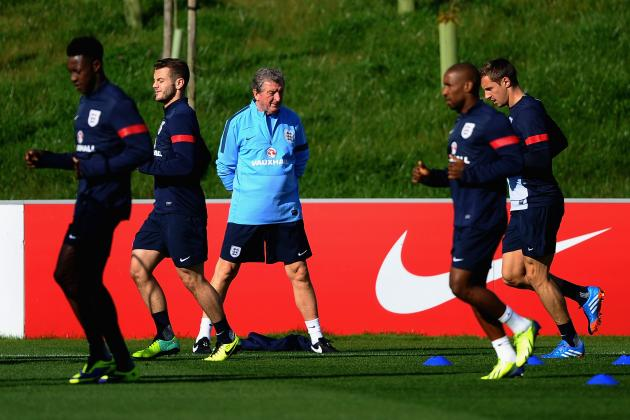World Cup 2014: Latest Projections for Roy Hodgson's England Squad