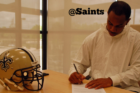 New Orleans Saints Re-Sign WR Robert Meachem to a One-Year Deal