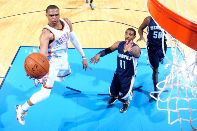 Memphis Grizzlies vs. Oklahoma City Thunder: Western Conference Round 1 Preview